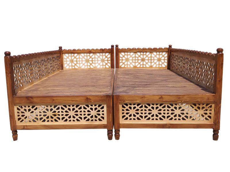 تخت سنتی باغی