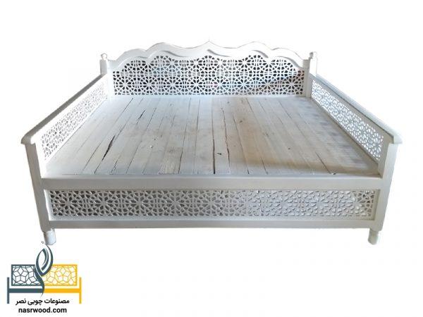 تخت سنتی کد nasr01a اندازه 2 متر در 1.5 متر