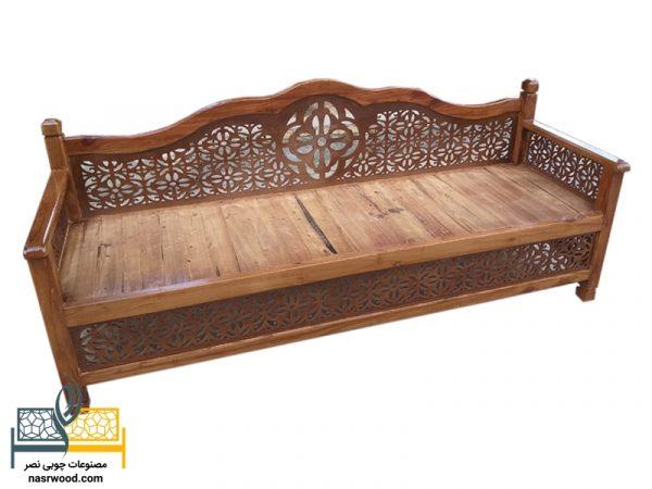 تخت سنتی nasr07i سایز 2 در 60