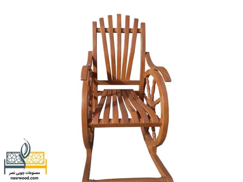 صندلی راک کد nasr-cap قهوه ای روشن