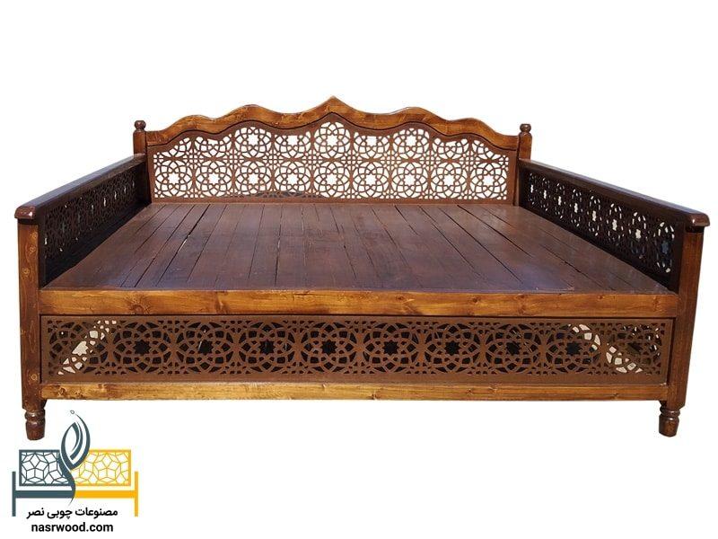 تخت سنتی nasr17a (2 در ۱.۵ متر)