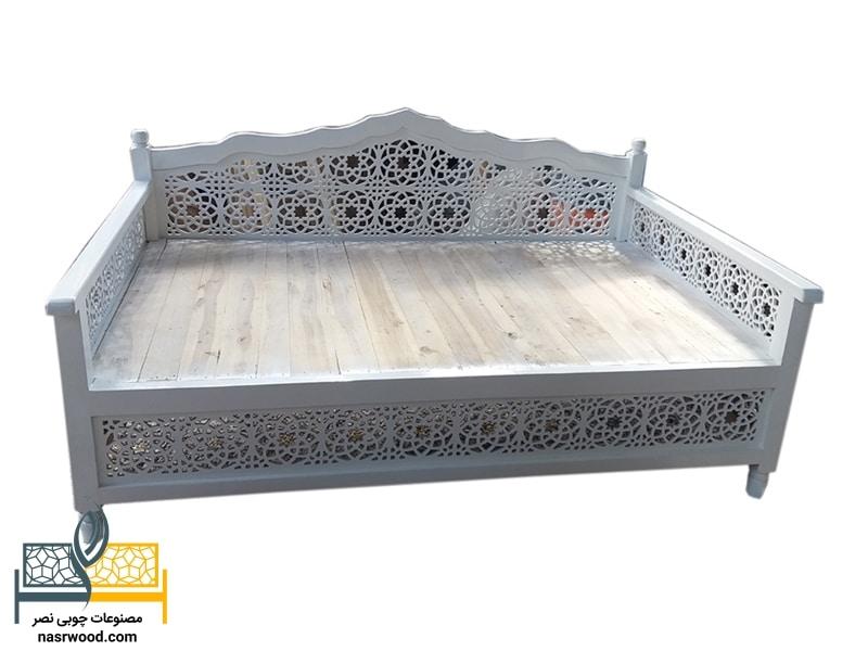 تخت سنتی nasr17s سفید