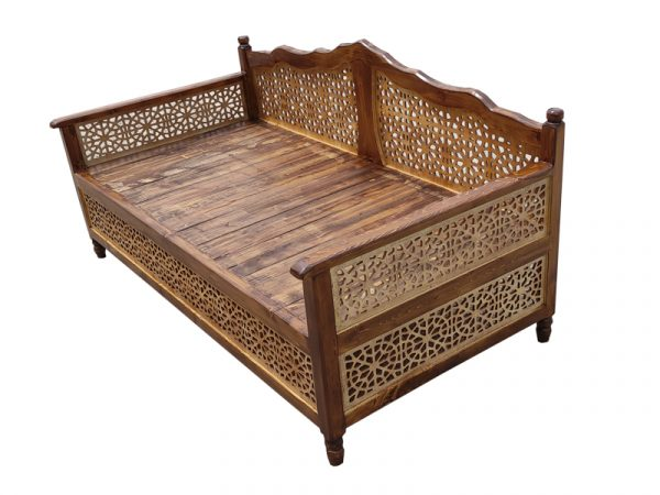 تخت سنتی nasr01t2 سایز 2 در 1
