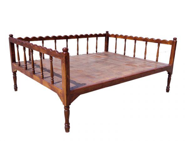 تخت سنتی ساده nasr-x6sa سایز 2 در 1.5