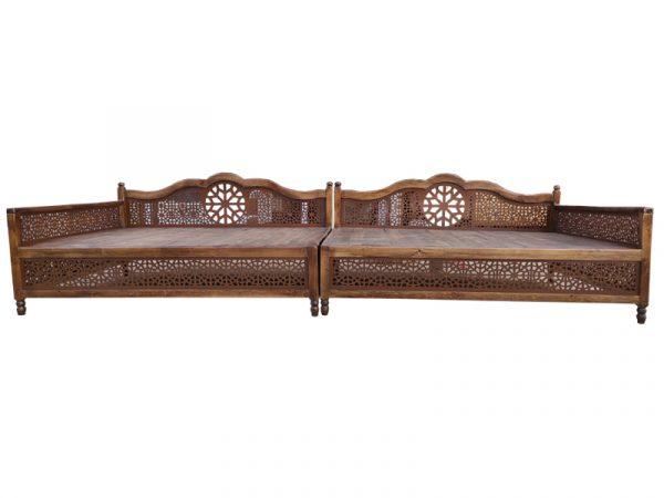 تخت سنتی nasr-01i12x سایز 4 در 1.5 متر