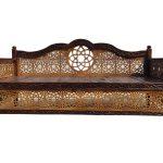 تخت سنتی منبت Nasr17im